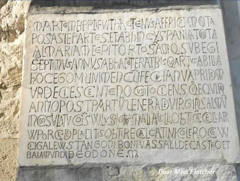 Lapide di Porta soprana (2)