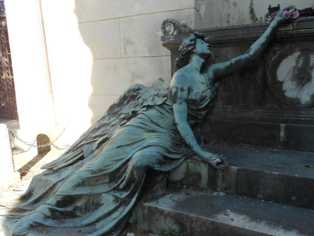 Favoloso Staglieno, gli angeli che proteggono il sonno | Dear Miss Fletcher JW39