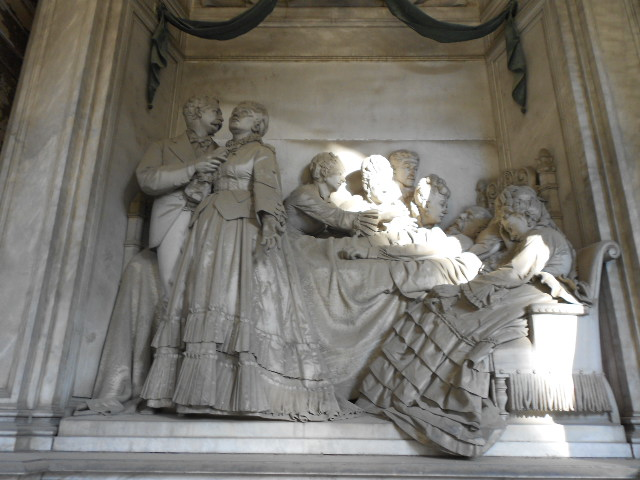 Estremamente Staglieno, gli angeli che proteggono il sonno | Dear Miss Fletcher IA75