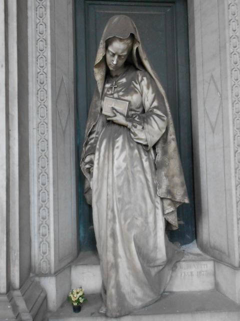 Estremamente Staglieno, gli angeli che proteggono il sonno | Dear Miss Fletcher LY89