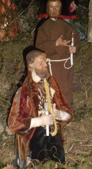 Il presepe di Greccio del Monastero delle Clarisse Capuccine (6/6)