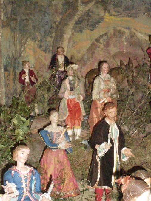 Il presepe di Greccio del Monastero delle Clarisse Capuccine (3/6)