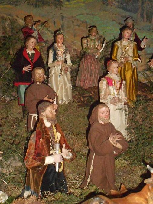 Il presepe di Greccio del Monastero delle Clarisse Capuccine (2/6)
