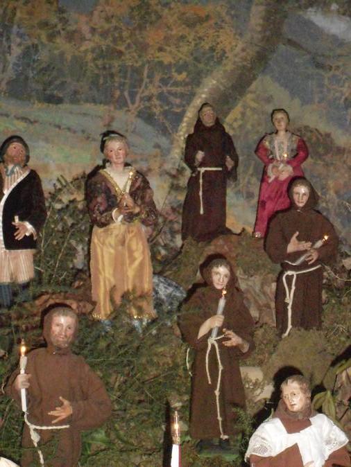 Il presepe di Greccio del Monastero delle Clarisse Capuccine (4/6)
