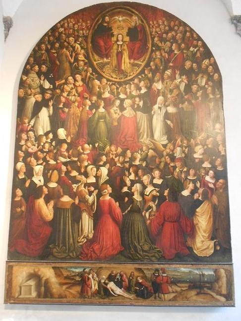 Nissan Santa Maria >> La Pala di Ognissanti di Ludovico Brea, il mondo in un dipinto | Dear Miss Fletcher