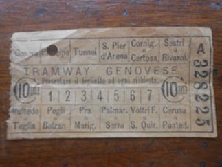 Il biglietto del tram