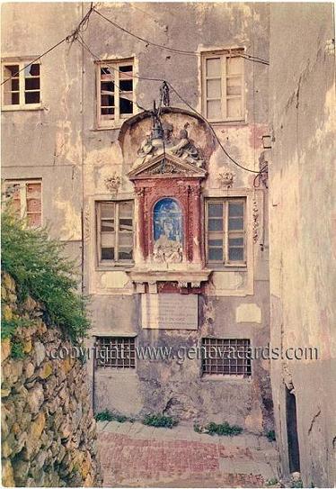 La casa di paganini e l edicola della madonna immacolata for Piani di casa sotto 600 piedi quadrati