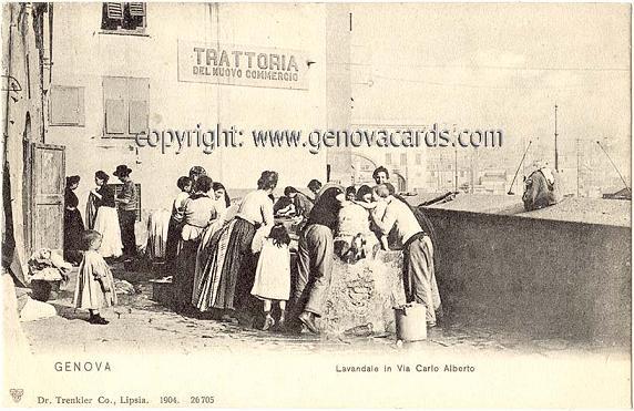 Lavandaie in Via Carlo Alberto