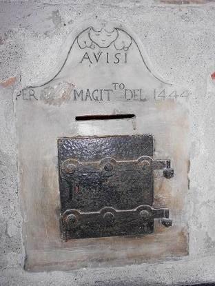 Avisi per il Magistrato del 1444