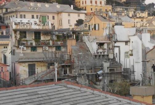 Palazzo Spinola di Pellicceria, la terrazza e la città dei tetti ...