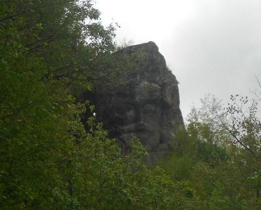 Volto Megalitico di Borzone (2)