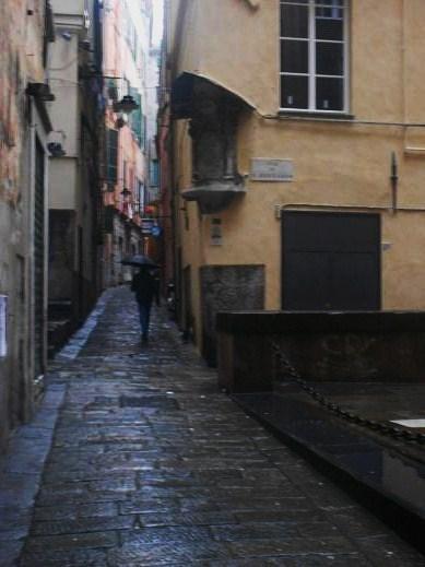 Vico dietro il Coro di San Cosimo