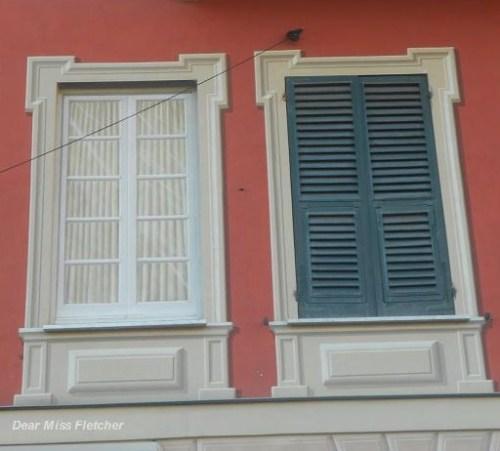Le finestre dipinte di santa margherita ligure dear miss for Finestre bianche