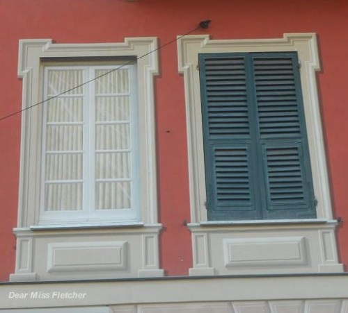 Le finestre dipinte di santa margherita ligure dear miss - Finestre bianche ...