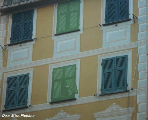 Le Finestre Dipinte Di Santa Margherita Ligure Dear Miss Fletcher