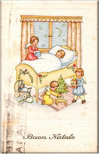 Auguri Di Natale Anni 50.Letterine Di Natale E Cartoline Di Auguri Del Passato Dear Miss