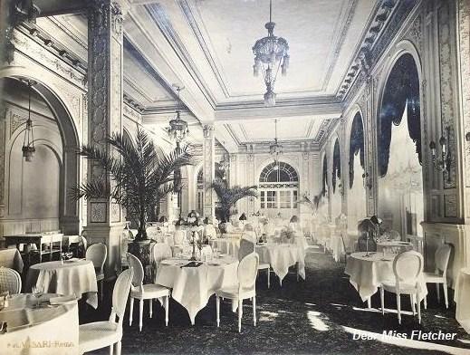 I fasti del grand hotel miramare dear miss fletcher - La sala da pranzo ...