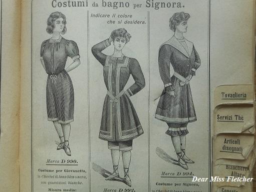 Vendita Costumi Da Bagno Vintage : Moda dear miss fletcher